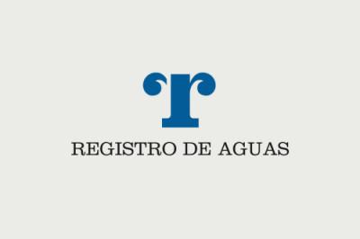REGISTRO DE AGUAS